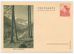 1633 - Liechtenstein 20 Rp. Bildpostkarte Enzian - Ungebraucht