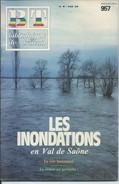 BT Bibliothèque De Travail-N°957-20 Octobre 1984-Les Inondations En Val De Saône (Recouvert D'un Protège Livre) - 12-18 Ans