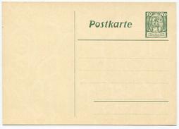 1636 - Liechtenstein 10 Rp. Postkarte Winzer - Ungebraucht - Ganzsachen