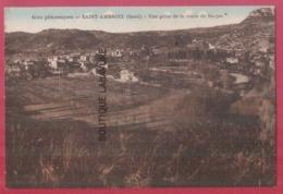 30 - SAINT AMBROIX (ST )-Vue Prise De La Route De Barjac--colorisée - Saint-Ambroix