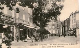 (20) CPA  Camares  Place Et Arbre De La Liberté  (bon Etat) - Autres Communes