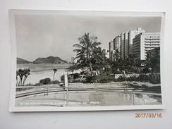 Postcard Santos ? Brazil  Guaruja Est De Sao Paulo Trecho Da Praia By Photo Postal Colombo Of Sau Paulo My Ref B1975 - São Paulo