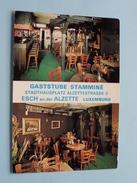 Gaststube Stamminé - Stadthausplatz ALZETTESTRASSE 3 () Anno 19?? ( Detail Zie Foto ) !! - Esch-Alzette