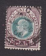 Natal, Scott #89, Used, King Edward VII, Issued 1902 - Afrique Du Sud (...-1961)