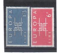 BAU841 EUROPA-CEPT 1963 IRLAND MICHL  159/60  Postfrisch SIEHE ABBILDUNG - 1949-... Republik Irland