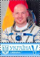Ukraine 2016, Space, German Astronaut, 1v - Ukraine