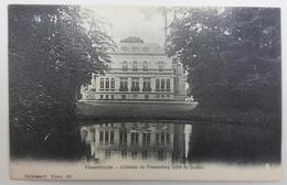 CPA Vlamertinghe Château Du Frezenberg (coté Du Jardin) - Ieper