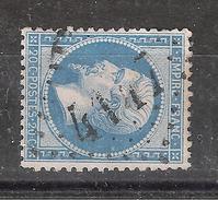 Empire Dentelé N° 22 Obl GC 4147 De VERMENTON, Yonne, TB - 1862 Napoleon III