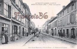 (82) Montauban - Rue Lacapelle - 2 SCANS - Montauban