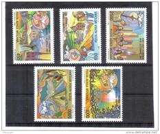 XAX41 VATICAN  1988   MICHL 952/56 ** Postfrischer SATZ   SIEHE ABBILDUNG - Vatikan