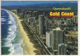 GOLD COAST, Aerial View Of Beach At Surfers Paradise,  Nice Stamp - Gold Coast