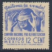 Mexico 1945 Mi 889 ** Removing Bandage - Literacy Campaign / Abnahme Einer Blindenbinde - Volksbildung - Mexico