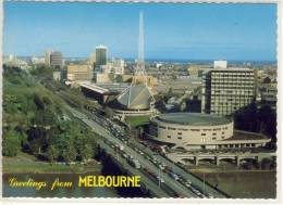 MELBOURNE -  Aerial View  Of Victorian Arts Centre In St. Kilda Road,  Nice Stamp - Melbourne