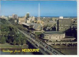 MELBOURNE -  Aerial View  Of Victorian Arts Centre In St. Kilda Road,  Nice Stamp Robotics - Melbourne