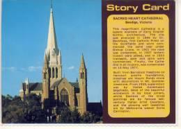 BENDIGO, Sacred Heart Cathedral,  Nice Stamp - Bendigo