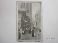 Postcard A Street In Ashar Mesopotamia Animated Arab Dress People Modern Iraq Near Basra ? My Ref B1981 - Iraq