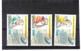 XAX127 VATICAN  1993   MICHL  1101/03 ** Postfrischer SATZ   SIEHE ABBILDUNG - Vatikan