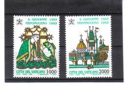 XAX123 VATICAN  1993   MICHL  1097/98 ** Postfrischer SATZ   SIEHE ABBILDUNG - Vatikan