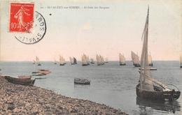 80-SAINT-VALERY-SUR-SOMME- ARRIVEE DES BARQUES - Saint Valery Sur Somme