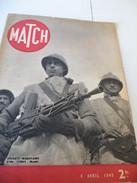 MATCH 4 Avril 1940 : Phalsbourg Hôpital Militaire, Armée Roumaine, Russe, Patrouilleurs Marocains Corps Franc   .. - 1939-45