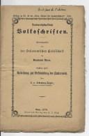 SUISSE Livret 1870 ,Canton De Berne - Livres, BD, Revues