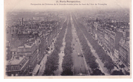 Paris Perspective - Perspective De L'avenue De La Grande Armée Prise Du Haut De L'Arc De Triomphe - Francia