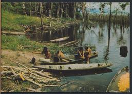 °°° 2159 - BRASIL - AMAZZONIA - INDI TIKUNAS AL PORTO °°° - Manaus