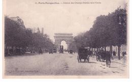 Paris Perspective - Avenue Des Champs Elysées Vers L 'Etoile - Champs-Elysées