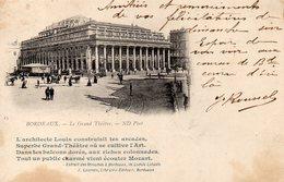 CPA BORDEAUX - LE GRAND THEATRE - Bordeaux