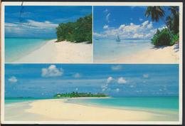 °°° 2161 - MALDIVES - HEAVEN ON EARTH - 1989 With Stamps °°° - Maldive