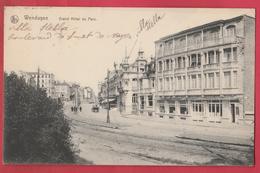 Wenduine / Wenduyne - Grand Hôtel Du Parc - 1913 ( Verso Zien ) - Wenduine