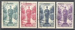 Maroc: Yvert N° 299/300 + A 81° - Maroc (1891-1956)