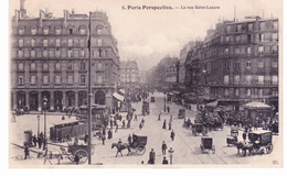 Paris Perspective - La Rue Saint Lazare - Francia