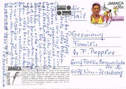 23574. Postal Aerea TARAWA (Jamaica) 1981. Stamp Olympic Games - Jamaica (1962-...)