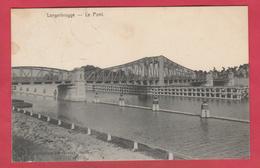 Langerbrugge - De Brug / Le Pont - 1907 ( Verso Zien ) - Evergem