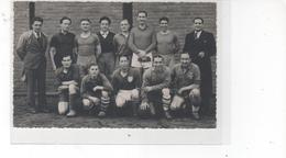 Carte Photo  Club S.E.S.C. 1937 - Saint Etienne