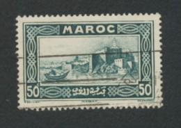 TIMBRE -  MAROC -  50C   Oblitéré - Rabat - Maroc (1956-...)