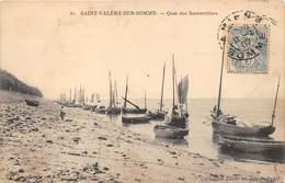 80-SAINT-VALERY-SUR-SOMME-  QUAI DES SAUTERELLIERS - Saint Valery Sur Somme