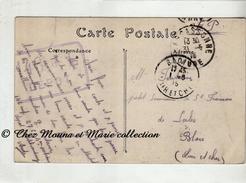 WWI 1915 - TAMPON 146 DE L DEPOT - BORIE 146 EME RI 27 CIE 4 SECTION - E FONTAINE - CASTELNAUDARY BLOIS - MILITAIRE - Marcophilie (Lettres)