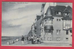 Westende - Un Coin De Digue  - 1910 ( Verso Zien ) - Westende