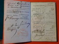 ARCHIVE D'UN NOTAIRE DU GERS ET DIVERS DOCUMENTS DES ANNEES 1830/1840 - Vieux Papiers