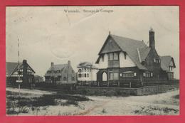 Westende - Groupe De Cottages - 1910 ( Verso Zien ) - Westende
