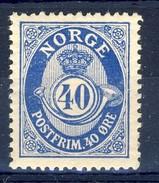 ##Norway 1921 [2]. Posthorn Type. Michel 103. MH(*) - Norvège