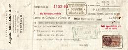 LETTRE DE CHANGE   AUGUSTE BOULAINE - Bills Of Exchange