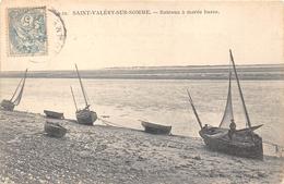 80-SAINT-VALERY-SUR-SOMME- BÂTEAUX A MAREE BASSE - Saint Valery Sur Somme