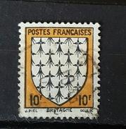 YT573  - Armoirie Bretagne - Oblitere - Frankreich