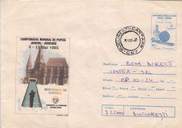 57700- WORLD CHAMPIONSHIP, BOWLING, COVER STATIONERY, 1995, ROMANIA