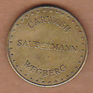 AC -  SAUBERMANN CARWASH WEGBERG TOKEN - JETON - Noodgeld