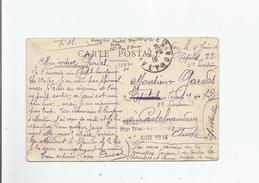 CACHET MILITAIRE DE L'HOPITAL TEMPORAIRE N° 22 DE RODEZ (12) DU 16 E CORPS D'ARMEE SUR CARTE POSTALE 1916 - Marcophilie (Lettres)