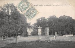 80-SAINT-VALERY-SUR-SOMME-  PARC DE L'ANCIENNE  ABBAYE - Saint Valery Sur Somme